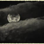 A Cloudy Full Moon by Jim Graham, HM f8 Digital