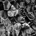 Cracked & Weathered Rocks by Oz Pfenninger, f16 Monochrome, Score: 9