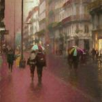 Rainy Afternoon in Toulouse by Jeff Hochwalt, f11 Digital, Score: 9