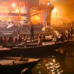 River Watchers at Varanasi by David Irwin, f8 Digital, Score - 10