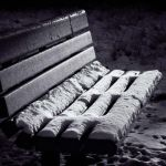 Snowy Bench by Fred Larke, f8 Digital, Score - 9