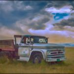 Old Truck Let Out to Pasture by Nancy Myer, f16 Digital, Score: 9