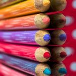 Pencils & Dots by Butch Mazzuca, f11 Digital, Score: 9