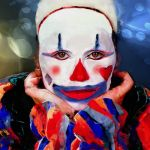 Encaustic Clown by Charles Hopkins, f16 Digital, Score: 9