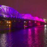 Rainbow Bridge by Gwen Pina, HM f5.6 Digital