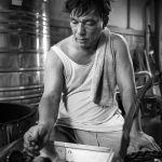 Bangkok Baker by Ron Cooper, f11 Monochrome, Score: 9