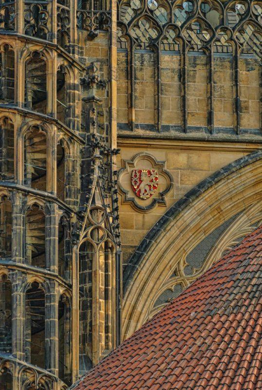 Seldom Seen Side of Prague Castle by Gwen Paton, f11 Digital, Score: 10