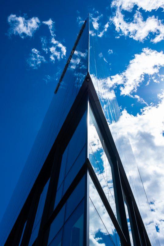 Split the Sky by Clifford Stockdill, f5.6 Digital, Score: 9