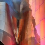 Pastel Curves and Reflections by Dan Greenberg, f16 Color, Score: 9