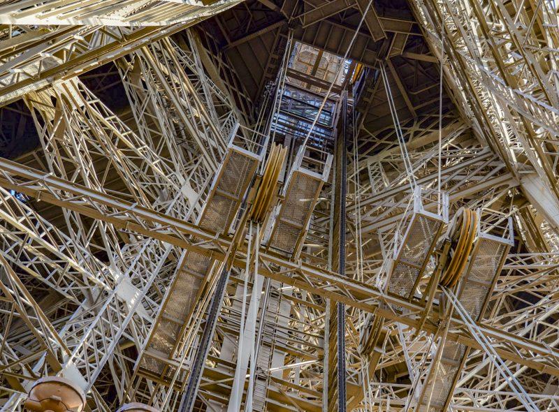 Eiffel Tower's Interior by Victoria Ashby, f8 Digital, Score: 10