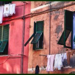 Washday at Cinque Terra by Peggy Dietz, 3rd f11 Color