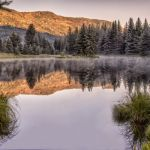 Mountain Morning by Butch Mazzuca, f16 Digital, Score: 9