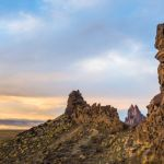 Volcanic Wall at Shiprock by Danny Lam, f16 Color, Score: 10