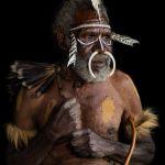 Dani Tribesman, West Papua by Ron Cooper, f16 Color Digital, Score: 10