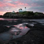 Sunrise at Nubble Lighthouse by Shawn Slade, f11 Color Digital, Score: 9