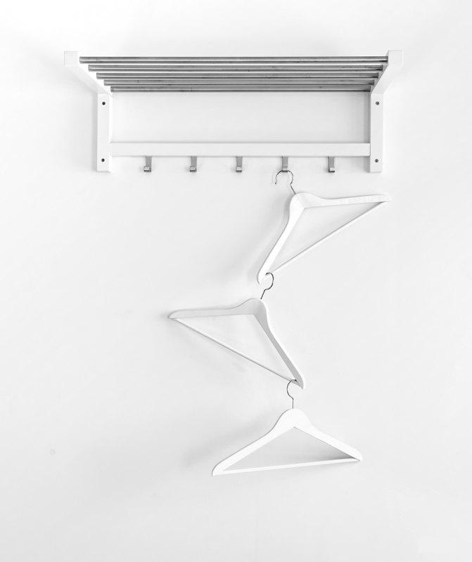Hangers by Joe Bonita, f16 B&W Digital, Score: 10