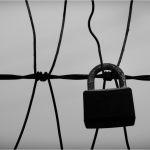 Forgotten lock, forgotten love by Clifford Stockdill, f11 B&W Digital, Score: 10