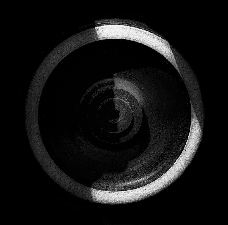 Circular #1 by Terry Hanford, f5.6 B&W Digital, Score: 10