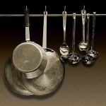 Pot, Pans & Ladles by Joe Bonita, F16 Monochrome, Score-9