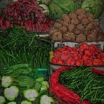 Balinese Market Stall by Nancy Myer, F16 Digital, Score-10