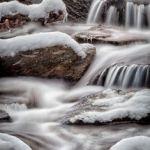 Winter Cascade by Gary Witt, f11 Color, Score: 9