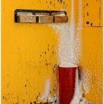 Brrrr in Red & Yellow by Joe Bonita, f16 Color, Score: 10