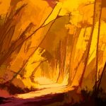 Autumn Lane by Clint Dunham, f11 Digital, Score: 9