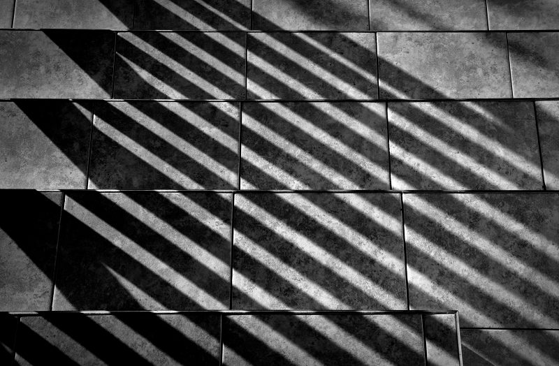 Diagonals & Steps by Oz Pfenninger, f16 Monochrome Print, Score: 9