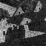 Shades of Inca History... by Nancy Myer, f16 B&W Digital, Score: 10