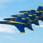 Blue Angels over Oahu by Todd Christensen, f11 Digital, Score: 10