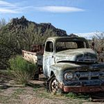 Done Truckin in AZ by Gwen Paton, f11 Digital, Score: 10