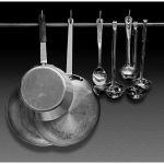 Cooking Utensils by Joe Bonita, f16 Monochrome, Score: 9