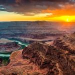 Sunset at Dead Horse Point by Danny Lam, f16 Color, Score: 9