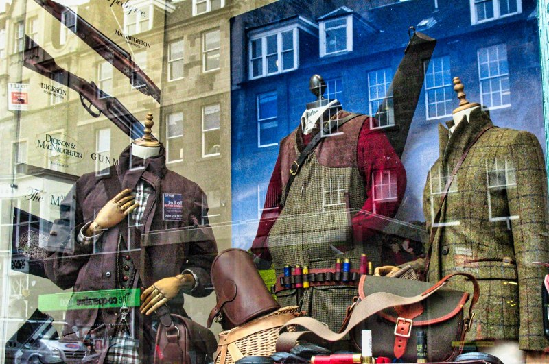 Reflections and Tweed by Al Shinogle, f8 Color Digital, Score: 9