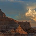 Sunset over the Badlands by Bill Dickson, f11 Color Digital, Score: 9