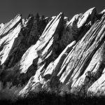 Rocks on end by Clifford Stockdill, f11 B&W Digital, Score: 9