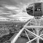 Looking Out Over London by Dan Greenberg, f16 B&W Digital, Score: 10