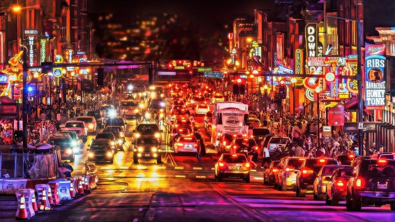 Social Distancing - Nashville June 2020 by Todd Lytle, f16 Color Digital, Score: 9
