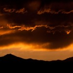 Passing Storm at Sunset by Ken Farman, 3rd f11 Digital