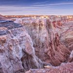 A Painterly View of Coal Mine Canyon by Dan Greenberg, f16 Digital, Score: 10