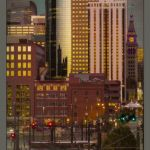 Denver Downtown at Twilight by Peggy Dietz, f16 Color, Score - 9