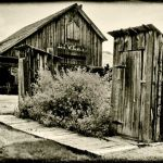 Behind the Livery Stable by Mary Paetow, f16 Monochrome, Score: 9