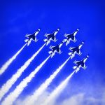 USAF Thunderbirds Going Super-sonic by Todd Lytle, f16 Digital, Score: 10