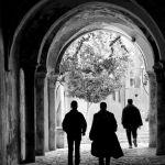 Unknown Pedestrians by Oz Pfenninger, f16 Monochrome, Score: 10