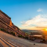 Sunrise at Red Rocks Amphitheatre by Danny Lam, f16 Color, Score: 10
