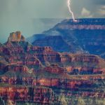 North Rim Storm by Butch Mazzuca, f16 Digital, Score: 9