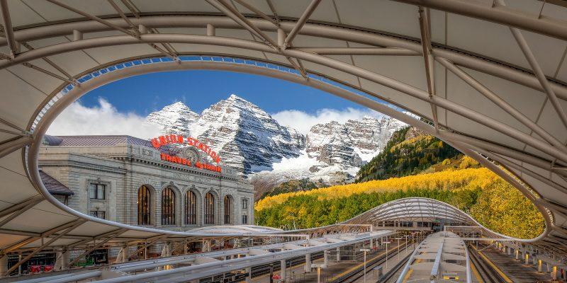 Mountain Train Station by Brian Donovan, f16 Digital, Score: 10