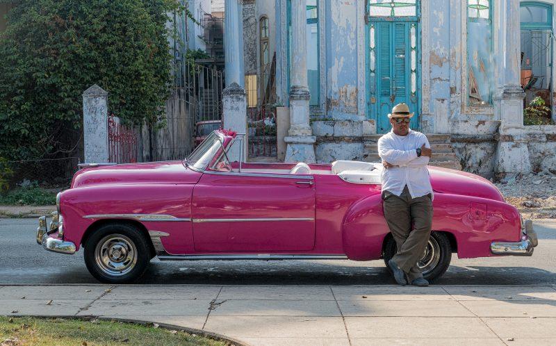 Cuban taxi In waiting by Gwen Paton, f11 Digital, Score: 10