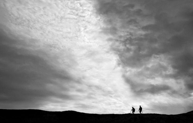 Ridge Hikers by Joe Bonita, f16 Digital, Score: 10