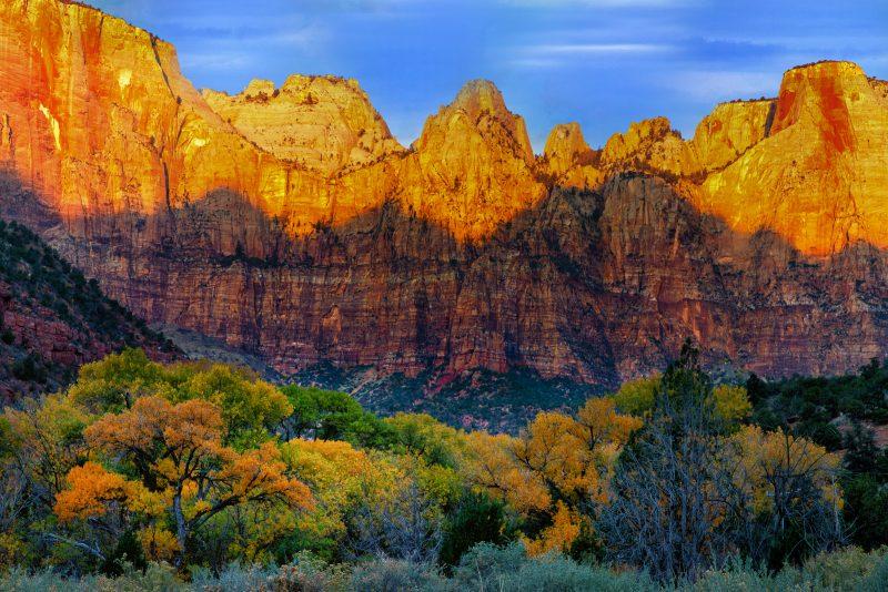 Mountain Shadows by Butch Mazzuca, f16 Digital, Score: 9